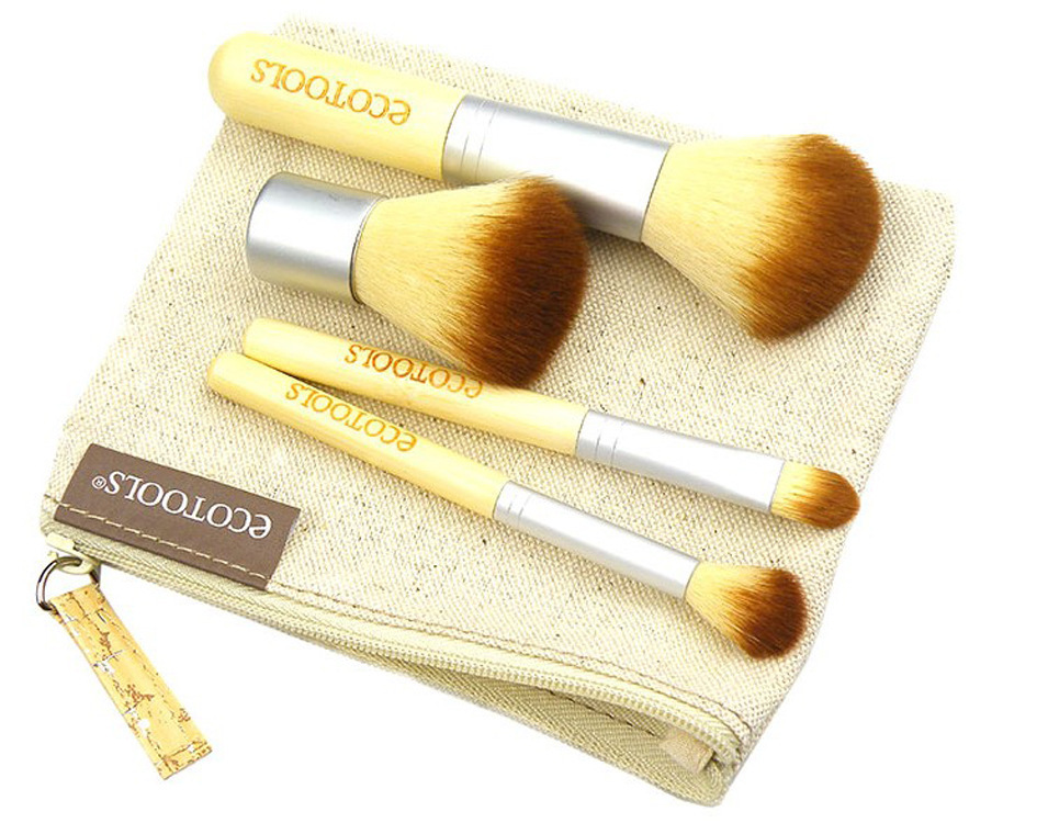 Custom makeup brush set