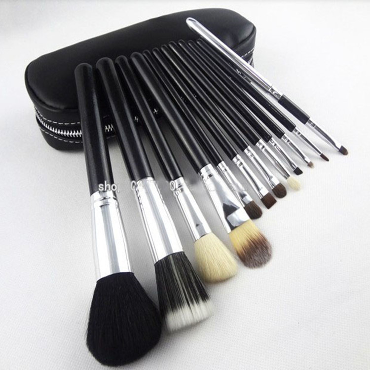12PCS makeup brush with bag