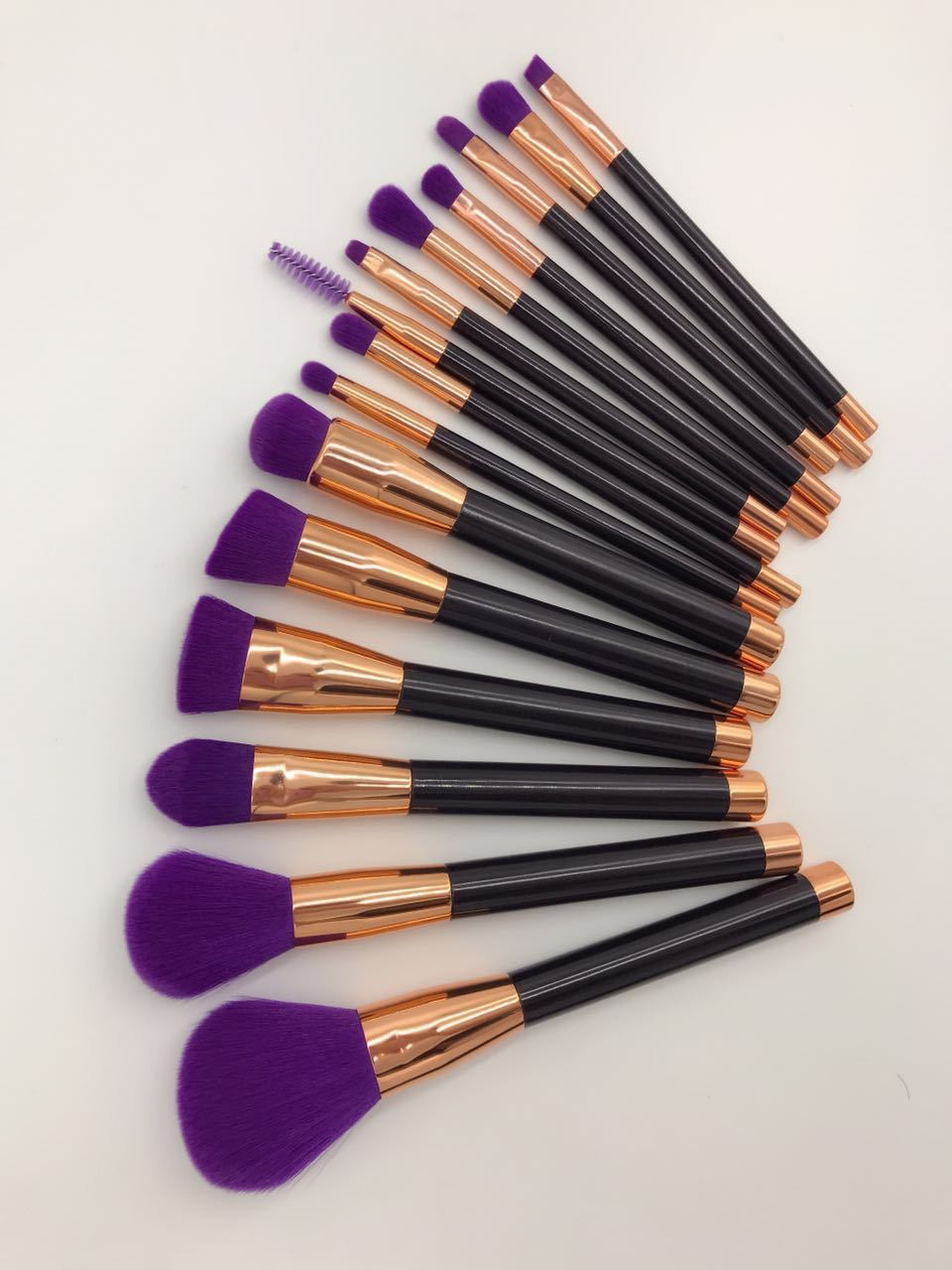 15pcs make up brush set