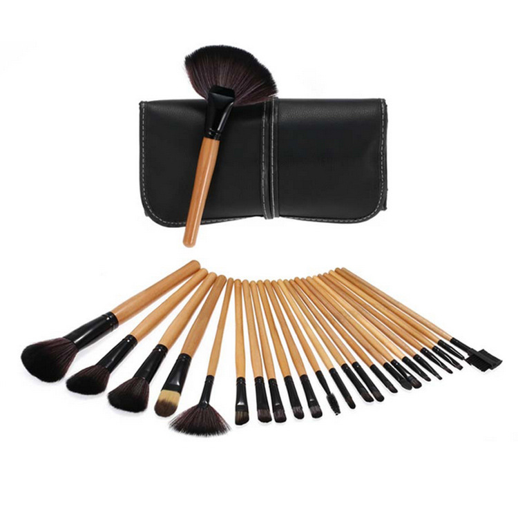 Wholesale makeup brushes with bag