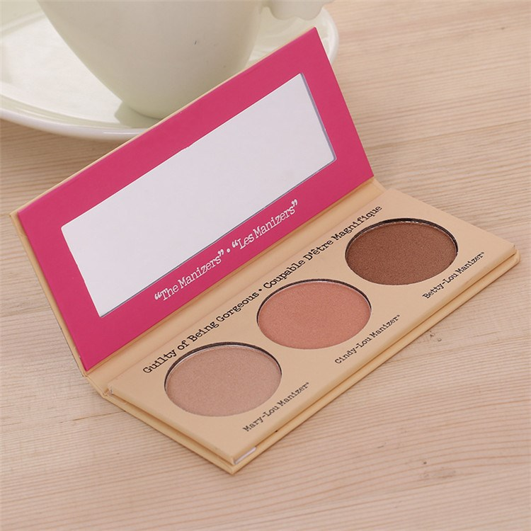 Cute 3 color eyeshadow palette