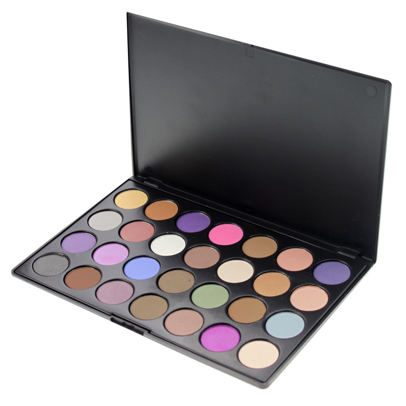28 colors matte eyeshadow palette